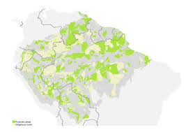 Regions Of South America Map by These 7 Maps Shed Light On Most Crucial Areas Of Amazon Rainforest