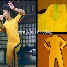 bruce yellow jumpsuit vintage bruce yellow jumpsuit costume kung fu
