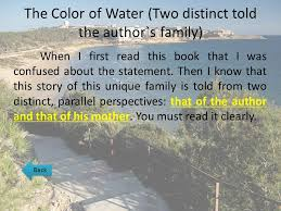 the color of water pages 100 the color of water quotes and page numbers 100 the