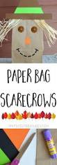paper bag scarecrows scarecrows parents and teacher