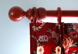 decorative wood curtain rod holder discount curtain rods curtain
