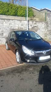 used opel corsa 2007 petrol 1 2 black for sale in cork