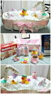 Diaper Cake Bathtub How To Make A Diaper Tub Cake Creative Gift Ideas Diy
