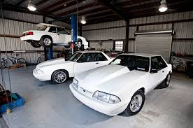 Black Fox Mustang Father U0026 Son Fox Body Mustangs 1993 And 1992 Ford Mustang