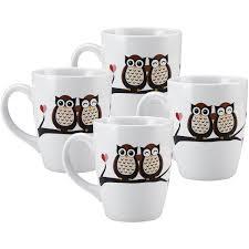 white coffee mugs walmart com pfaltzgraff 27 oz jumbo two owls mug