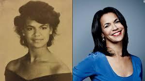 short hair female cnn anchor cnn talent 80s and today