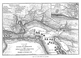 Map Of Quebec Canada by Fiske New France And New England Map 6 Siege Of Quebec