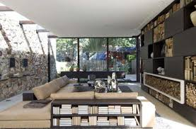 Stunning Bungalow Interior Model By Fernanda Marques  Interior Design - Bungalow living room design
