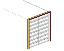 Sectional Overhead Door by Bim Objects Families