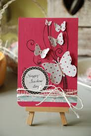 Handmade Greeting Cards Designs For Teachers Day