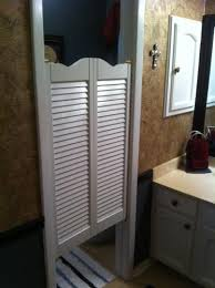 Interior Cafe Doors Pinecroft 36 In X 42 In Louvered Wood Cafe Door 853642wt At The