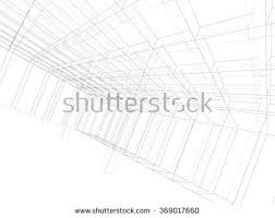 abstract building sketch background stock illustration 213377062