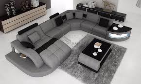 canap forme u kuka maison coupe tissu canapé en forme de u avec led lumière canapé