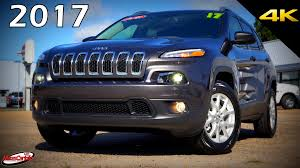 old white jeep cherokee 2017 jeep cherokee latitude 4wd ultimate in depth look in 4k