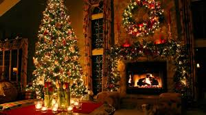 homes with christmas decorations home design