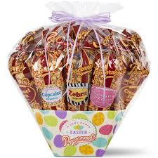 popcorn gift baskets easter 12 cone gift basket