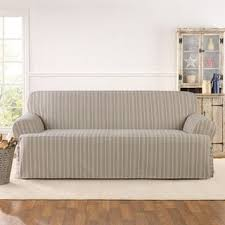 Plastic Sofa Slipcovers Sure Fit Slipcovers U0026 Furniture Covers Shop The Best Deals For