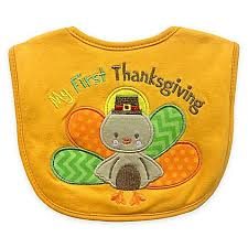 my 1st thanksgiving my thanksgiving appliqued feeder bib buybuy baby