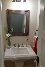 Wood Frames For Bathroom Mirrors - the elegant and also stunning rustic mirrors for bathrooms