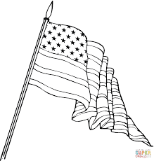 usa flag in a heart shape coloring page free printable coloring