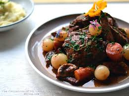 vin cuisine cooked coq au vin recipe a favourite ms i hua the boy