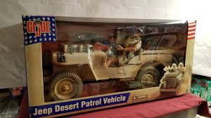 desert military jeep gi joe jeep desert patrol vehicle figure set review youtube
