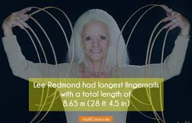 lee redmond longest fingernails gel nails filing