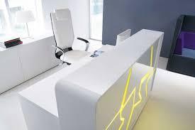 Funky Reception Desks Reception Desks With Led Lighting