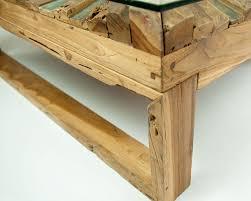 sunburst rustic coffee table eco friendly furniture