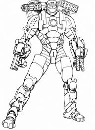 Iron Man Armored Adventures Coloring Pages Super Heroes Coloring Coloring Page Iron
