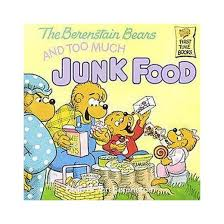 the berenstain bears and much junk food time books