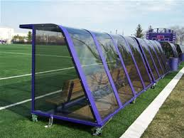 team shelters for soccer field hockey and other field sports