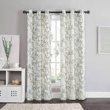Classics Curtains Classics Curtain Panel Color Orange Living