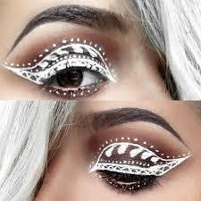 henna eye makeup best 25 eyeliner henna ideas on