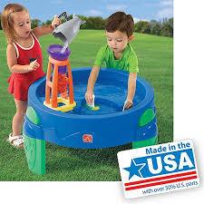step2 waterwheel play table step2 waterwheel play table cedar s 1st birthday gift ideas