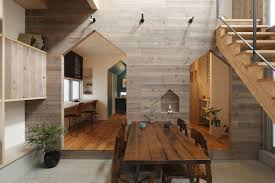 wood interior homes small modern house in kyoto with wood interiors idesignarch