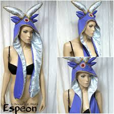 espeon pokemon scoodie cosplay dance costume rave bra rave wear