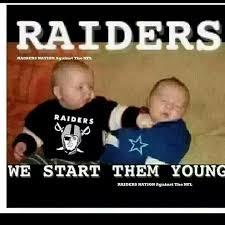 Funny Raiders Meme - raiders raie them right google search raiders for life
