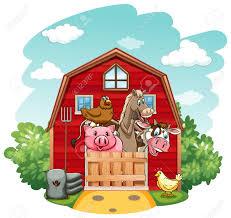 A Cartoon Barn Interesting Farm Barn House With Style Home Showcases Design