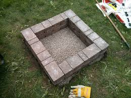 Square Firepit How To Make Square Pit Diy Crafts Handimania