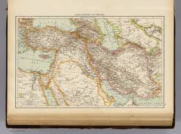 Asia Minor Map by Asia Minor Persia David Rumsey Historical Map Collection