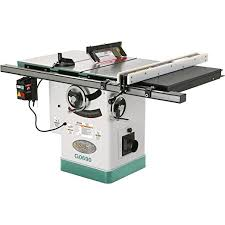 jet benchtop table saw grizzly g0690 cabinet table saw with riving knife 10 inch power