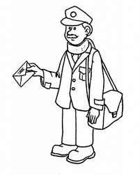 coloring pages community helpers aecost net aecost net