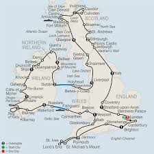 Map Of England And Ireland by Britain U0026 Ireland Escorted Tours 2014 Globus Sedunia Travel