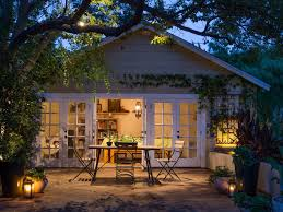 Outdoor Lighting Images by 16 Budget Friendly Outdoor Lighting Ideas Hgtv