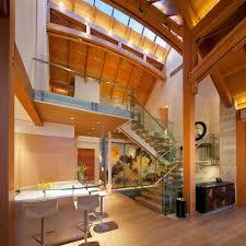 Timber Frame Home Interiors Artstation Modern Oak Frame House Jarrod Kamelski Interior Loversiq