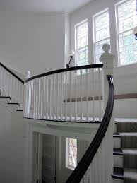 interior staircase design in main hall for duplex house