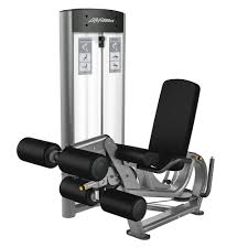optima series leg extension curl life fitness strength training