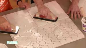 video how to regrout tile martha stewart
