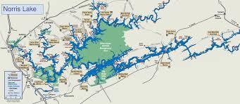 Island Lake State Park Map by Map Norris Lake Jpg